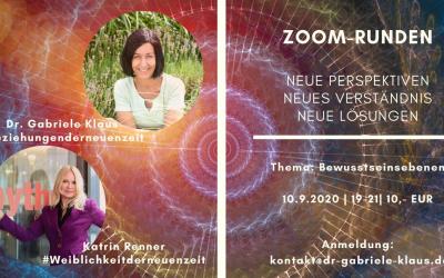 Integrale Zoomrunden – Modell der Bewusstseinsebenen